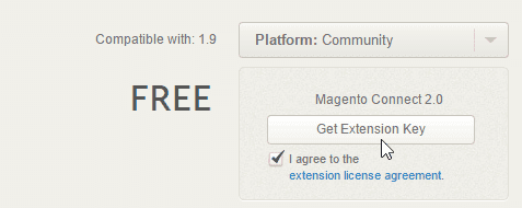 extension key magento